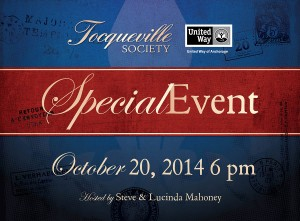 Tocqueville Society Cultivation Event Card